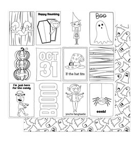 Photoplay Monster Mash Paper - Color Me