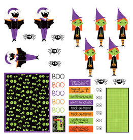 Photoplay Monster Mash Paper - Pre-Colored Dies