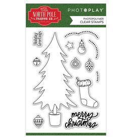 Photoplay The North Pole Trading Co. - Trim a Tree Stamp Set