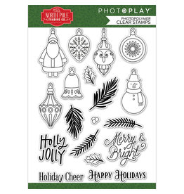 Photoplay The North Pole Trading Co. -Deck the Halls Stamp Set
