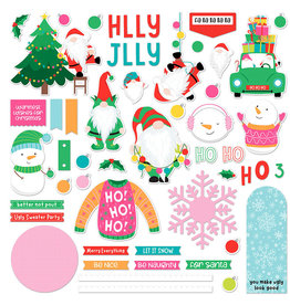 Photoplay Tulla & Norbert's Christmas Party - Card Kit Sticker