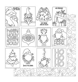 Photoplay Tulla & Norbert's Christmas Party Paper - Color Me Cards