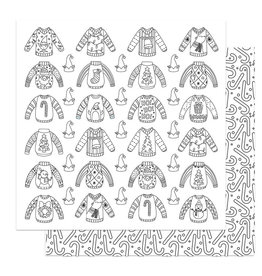 Photoplay Tulla & Norbert's Christmas Party Paper - Color Me Ugly Sweaters