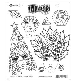 RANGER Dylusions Stamp: Hats Off