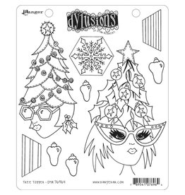 RANGER Dylusions Stamp: Tree Toppr
