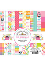 DOODLEBUG cute & crafty: 6x6 paper pad