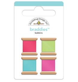 DOODLEBUG cute & crafty: bobbins braddies