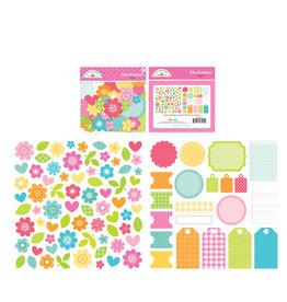 DOODLEBUG cute & crafty: bright bits & pieces