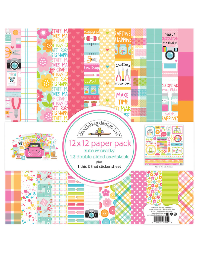 DOODLEBUG cute & crafty: Collection kit