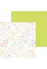 DOODLEBUG cute & crafty: colorful canvas double-sided cardstock