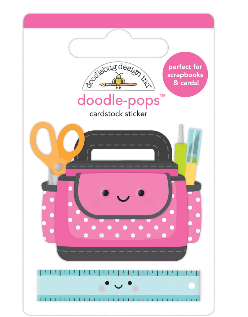 DOODLEBUG cute & crafty: craft caddy doodle-pops
