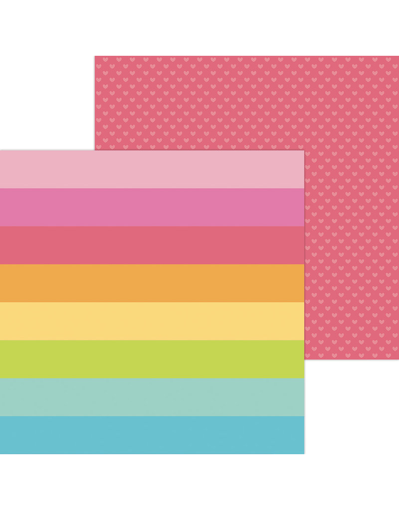 DOODLEBUG cute & crafty: craft in color double-sided cardstock