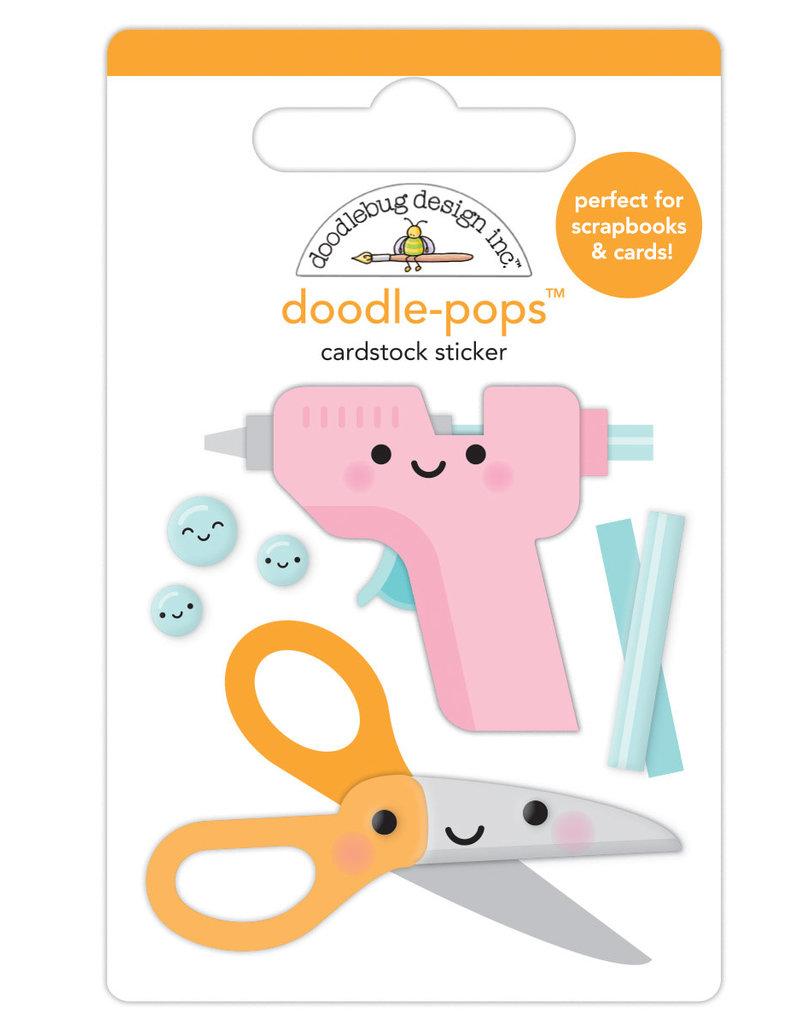 DOODLEBUG cute & crafty: cute & crafty doodle-pops