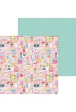 DOODLEBUG cute & crafty: cute & crafty double-sided cardstock
