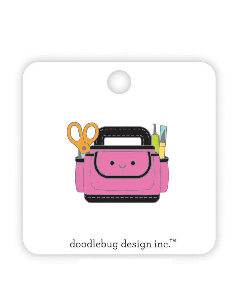DOODLEBUG cute & crafty: cute caddy collectible pins