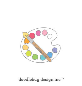 DOODLEBUG cute & crafty: doodlebug palette collectible pins