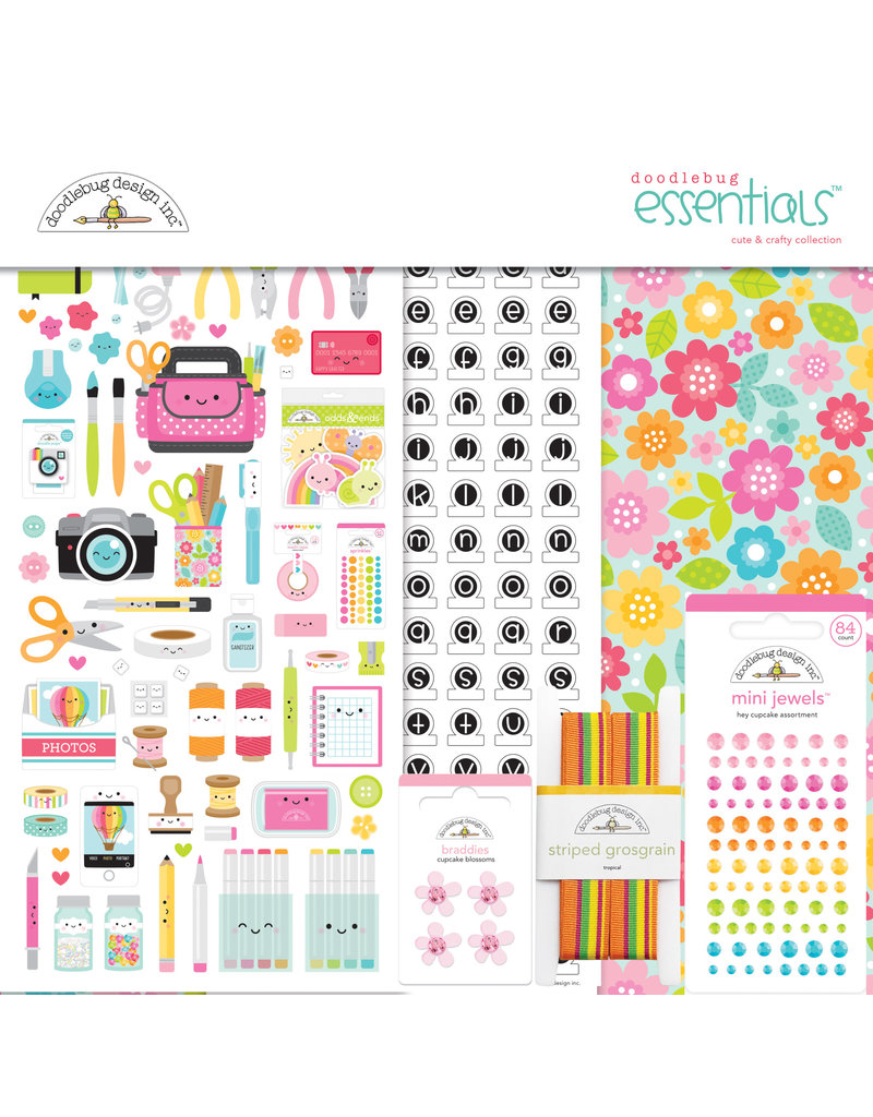 DOODLEBUG cute & crafty: essentials kit