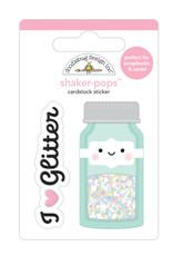 DOODLEBUG cute & crafty: glitter jar shaker-pops