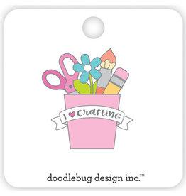 DOODLEBUG cute & crafty: I ♥ crafting collectible pins