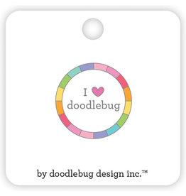 DOODLEBUG cute & crafty: I ♥ doodlebug collectible pins