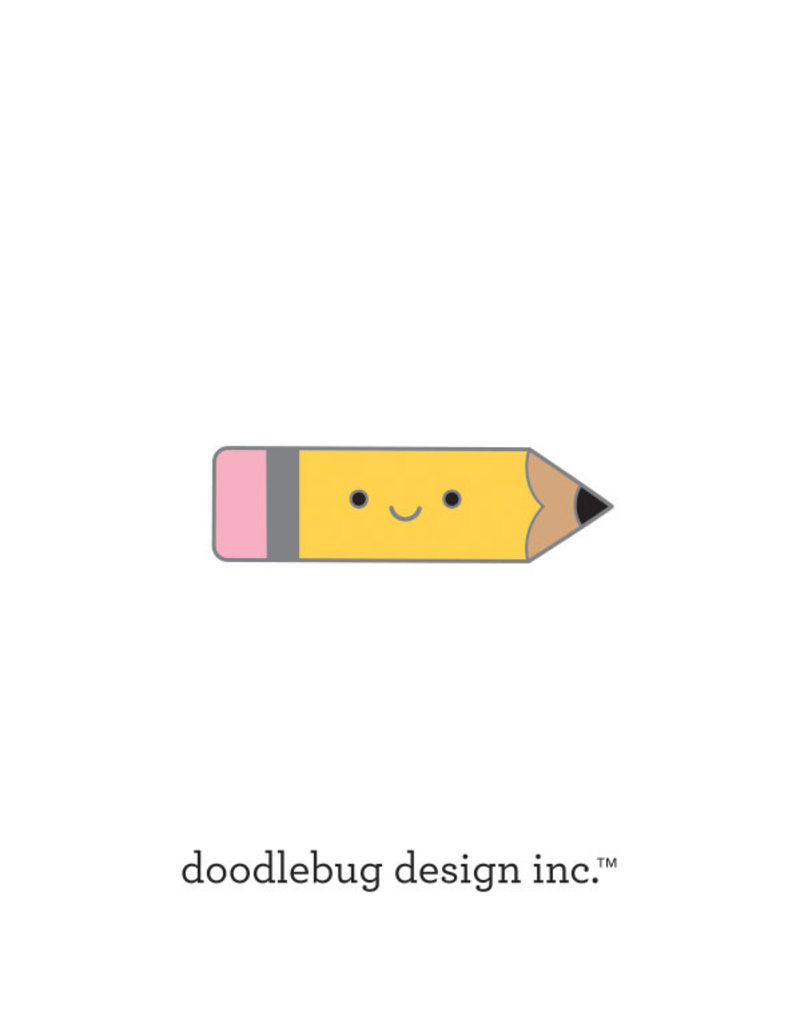 DOODLEBUG cute & crafty: pencil collectible pins