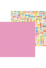 DOODLEBUG cute & crafty: pretty in pink double-sided cardstock