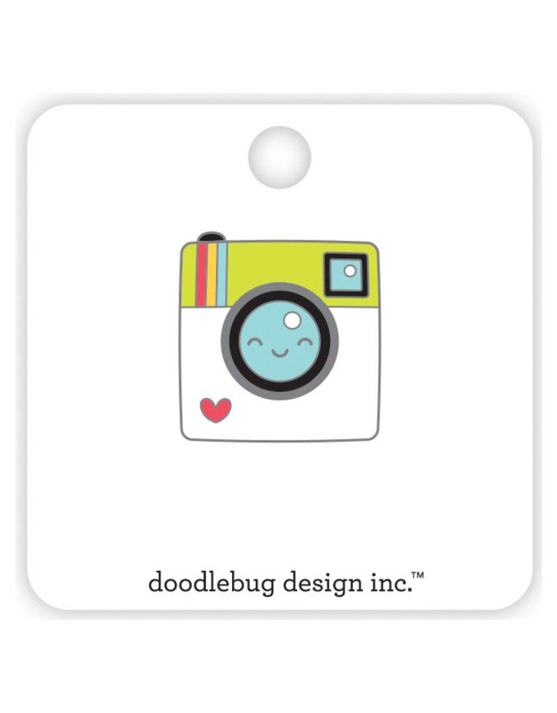 DOODLEBUG cute & crafty: say cheese collectible pins