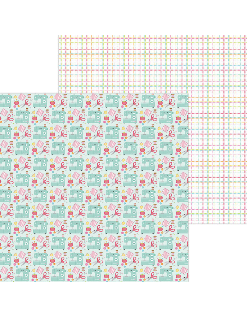 DOODLEBUG cute & crafty: sew cute double-sided cardstock