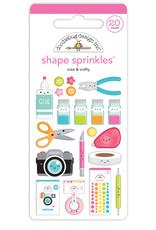 DOODLEBUG cute & crafty: shape sprinkles