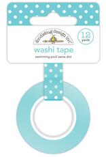 DOODLEBUG cute & crafty: swimming pool swiss dot washi tape