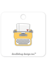 DOODLEBUG cute & crafty: tiny type collectible pins