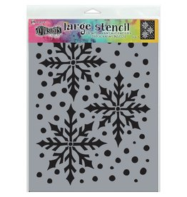 DYLUSIONS Ice Queen - Large Stencil
