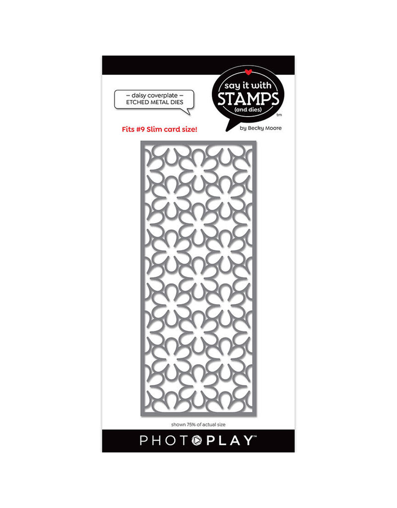 Photoplay #9 Daisy Coverplate Die