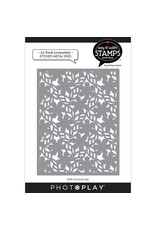 Photoplay A2 Floral Coverplate Die