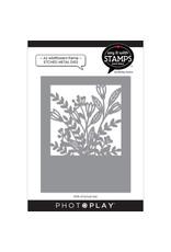 Photoplay A2 Wildflowers Coverplate Die