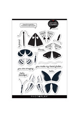 Photoplay Beautiful Butterflies  Stamps