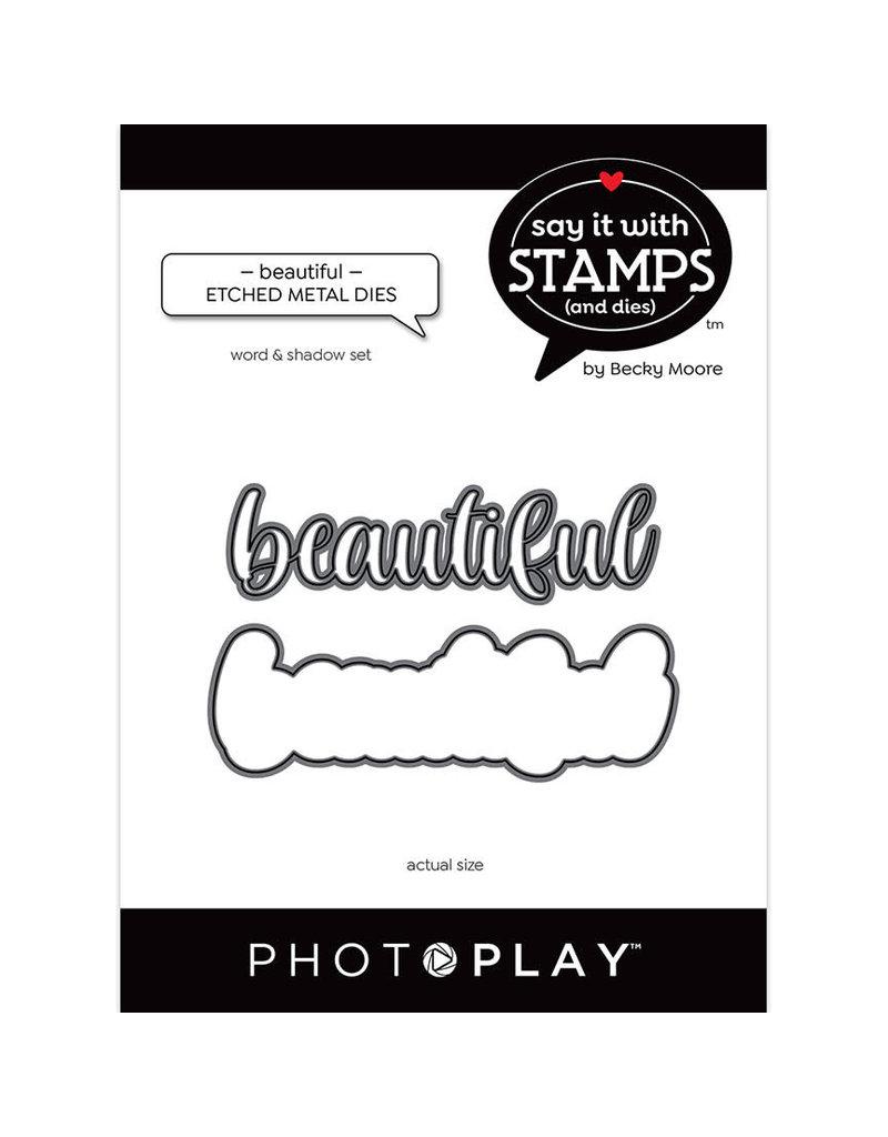 Photoplay Beautiful Word Dies