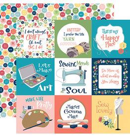 Carta Bella Craft & Create Paper: 4X4 Journaling Cards