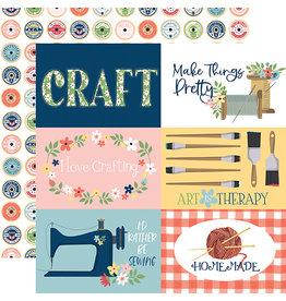 Carta Bella Craft & Create Paper: 6X4 Journaling Cards