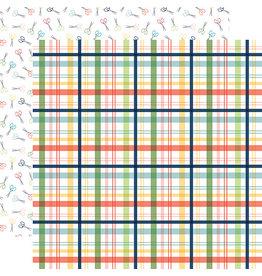 Carta Bella Craft & Create Paper: Makers Plaid