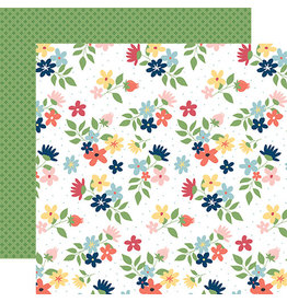 Carta Bella Craft & Create Paper: Sew Lovely Floral