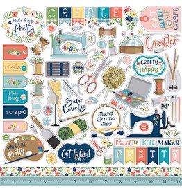 Carta Bella Craft & Create: Element Sticker