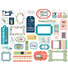 Carta Bella Craft & Create: Frames & Tags