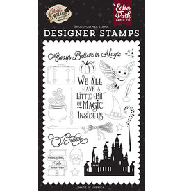 Echo Park Witches & Wizards No2: Believe In Magic Stamp Set