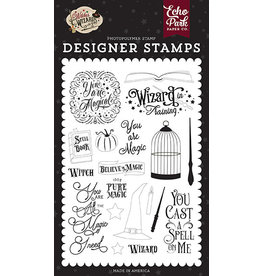 Echo Park Witches & Wizards No2: You Are Magic Stamp Set
