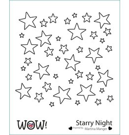 wow! Starry Night Stencil