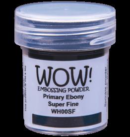 wow! Wow!Super Fine: Primary Ebony