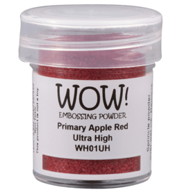 wow! Wow!Ultra High: Primary Apple Red