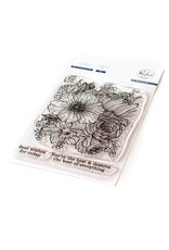 Pink Fresh Best of Everything Floral Stamp