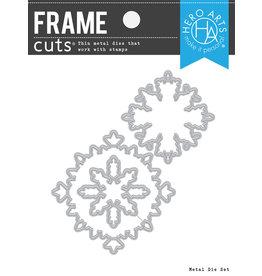 HERO ARTS Color Layering Snowflake Frame Die